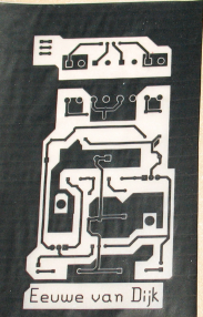 printed design for the pcb